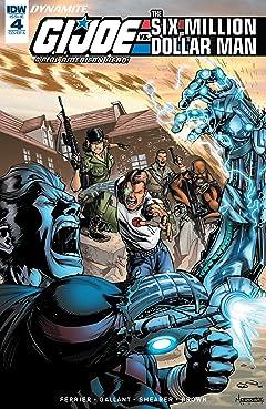 G.I. Joe: A Real American Hero vs. the Six Million Dollar Man #4