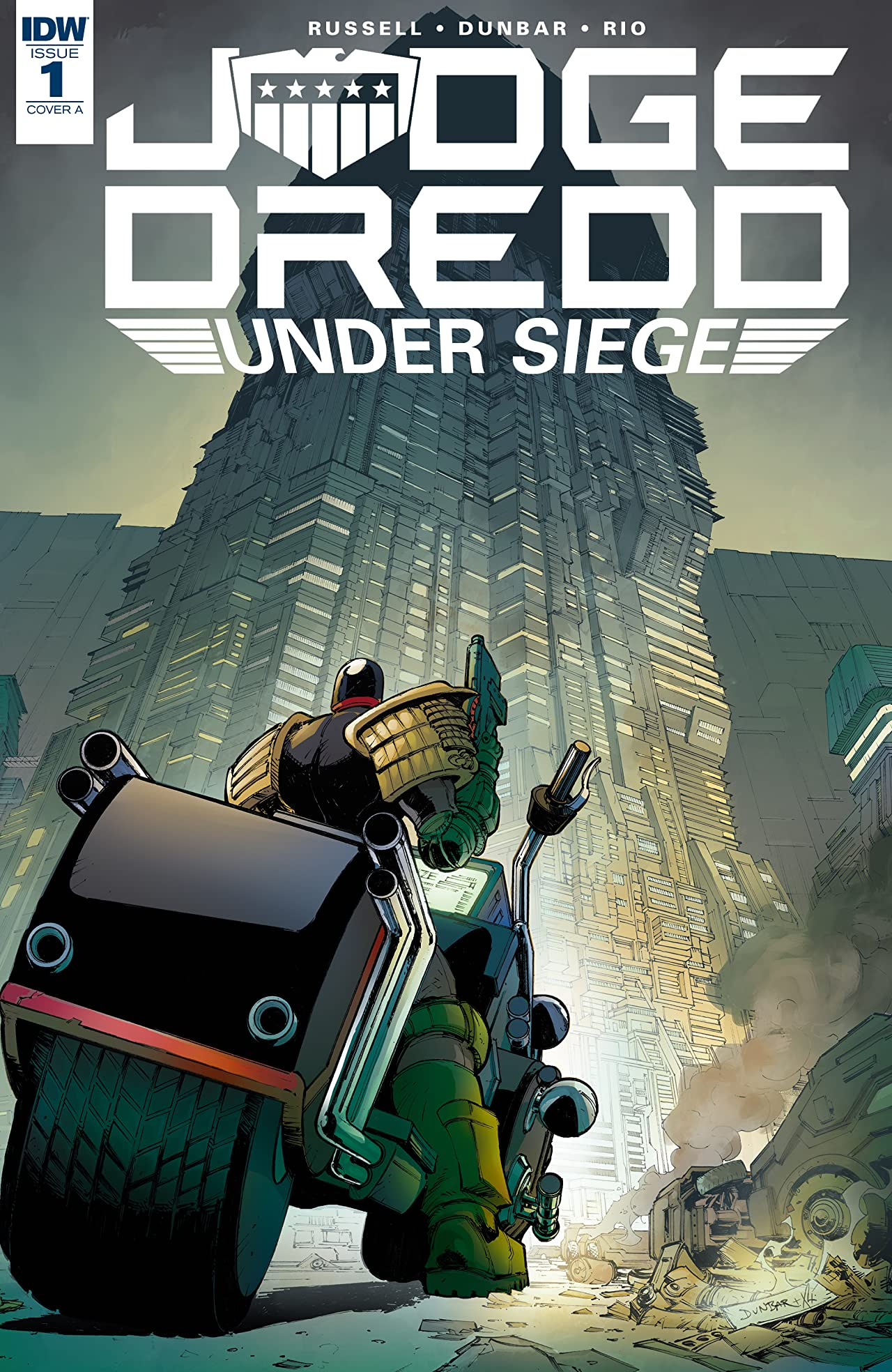 Judge Dredd: Under Siege No.1 (sur 4)