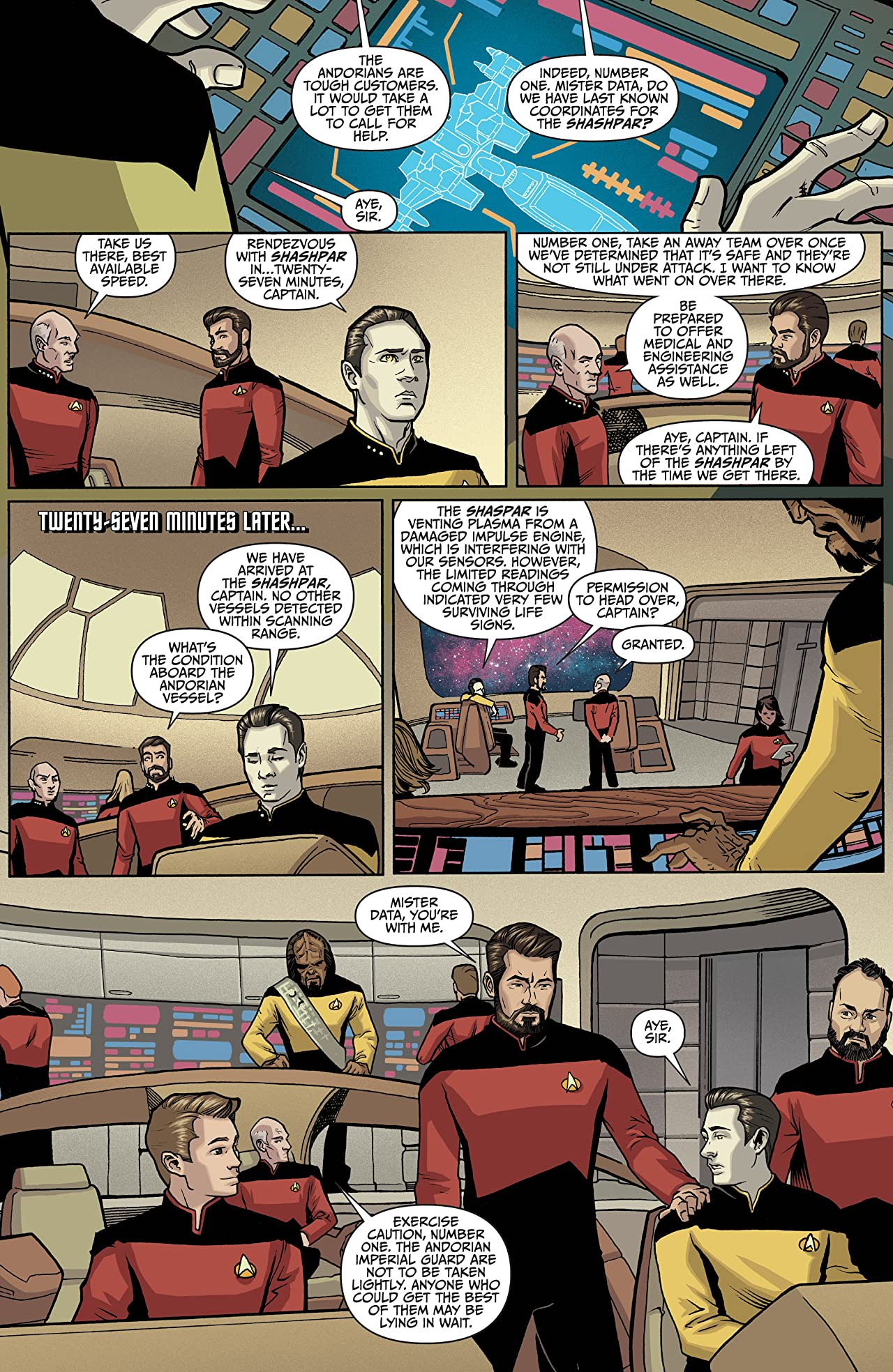 Star Trek: The Next Generation: Through The Mirror #2 (of 5)