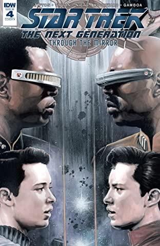 Star Trek: The Next Generation: Through The Mirror No.4 (sur 5)