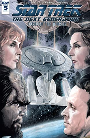 Star Trek: The Next Generation: Through The Mirror No.5 (sur 5)