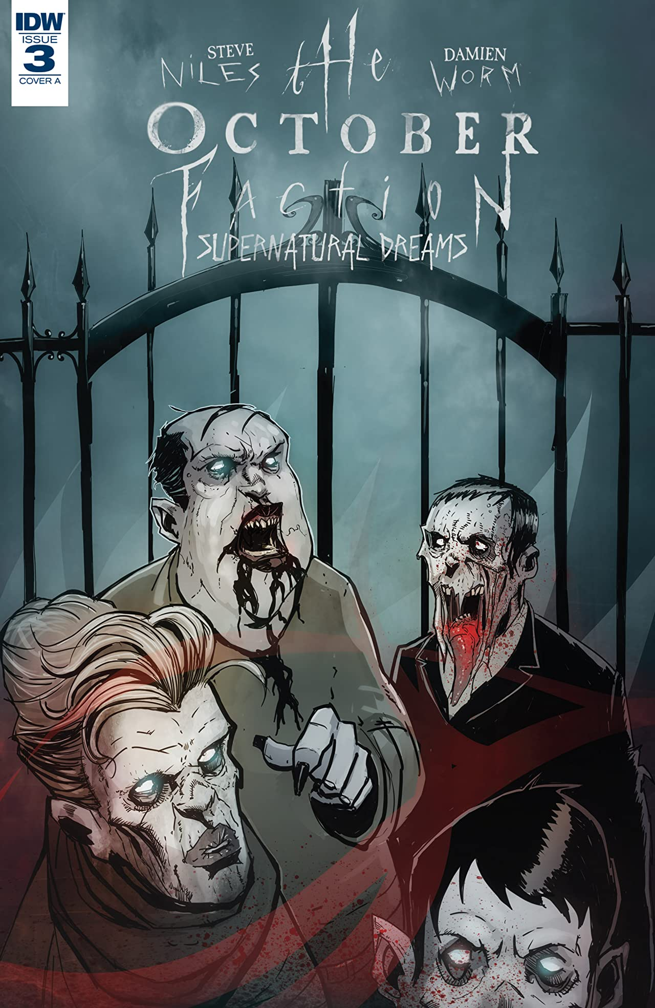 The October Faction: Supernatural Dreams #3