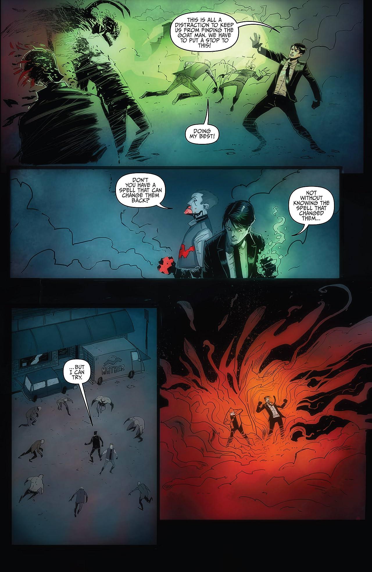 The October Faction: Supernatural Dreams #3
