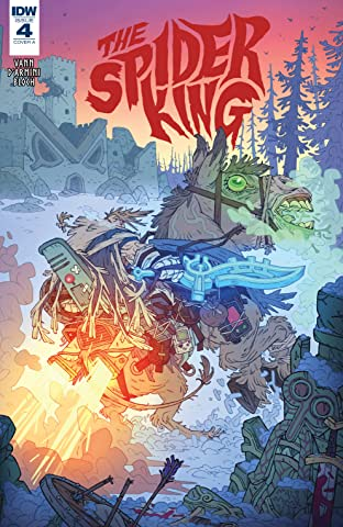 The Spider King #4 (of 4)