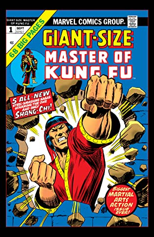 Giant-Size Master of Kung Fu (1974-1975) #1