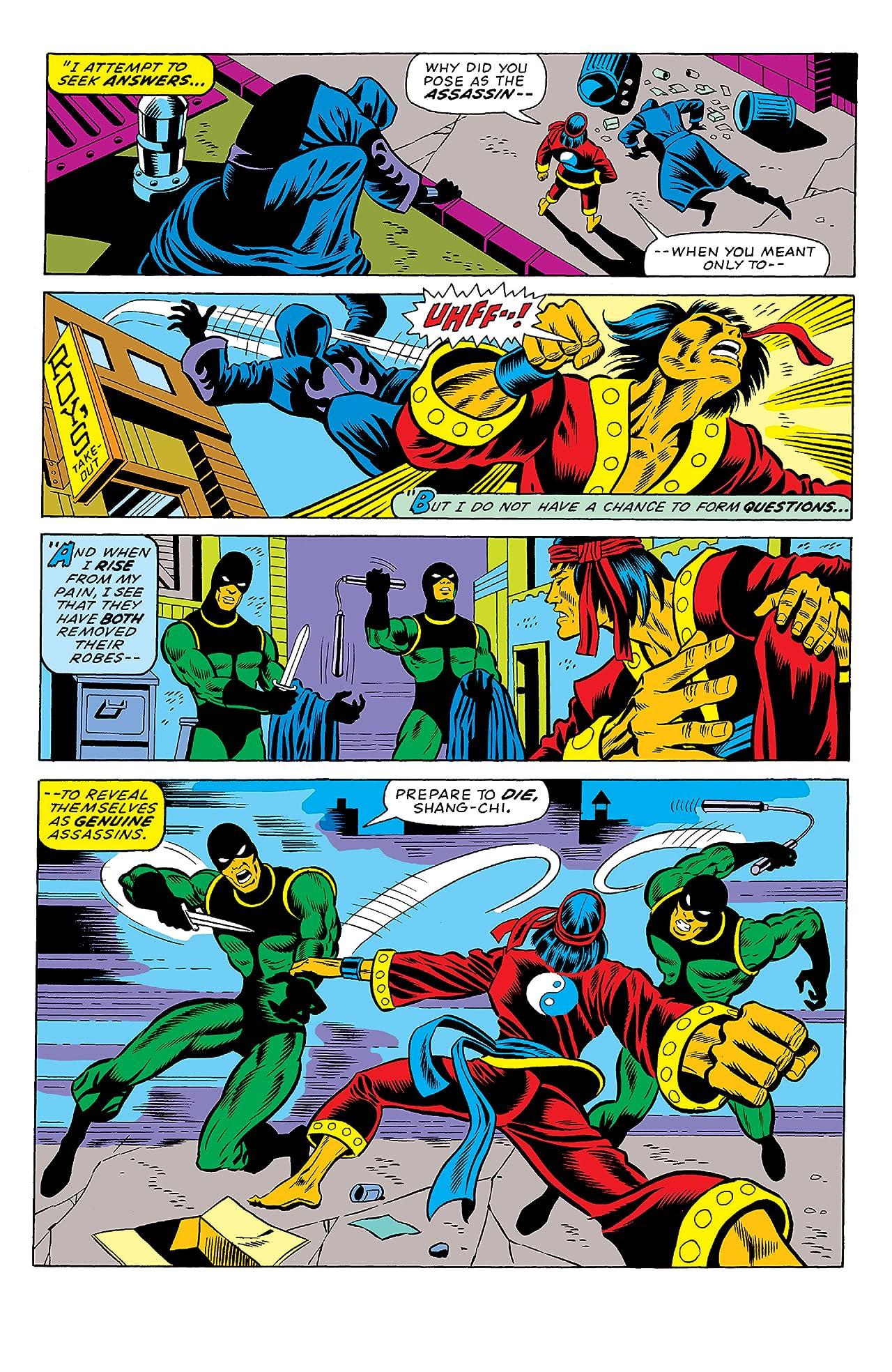 Giant-Size Master of Kung Fu (1974-1975) #1