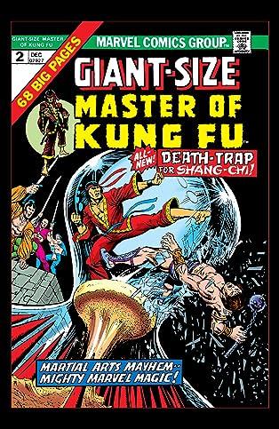 Giant-Size Master of Kung Fu (1974-1975) #2