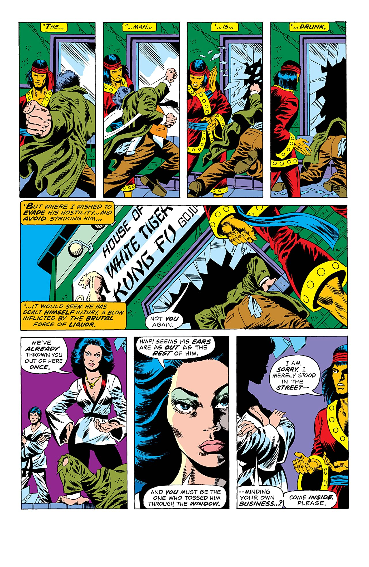 Giant-Size Master of Kung Fu (1974-1975) #2