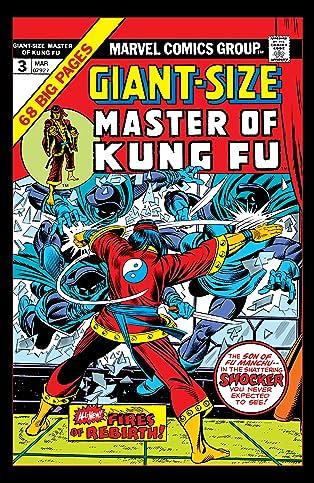 Giant-Size Master of Kung Fu (1974-1975) #3
