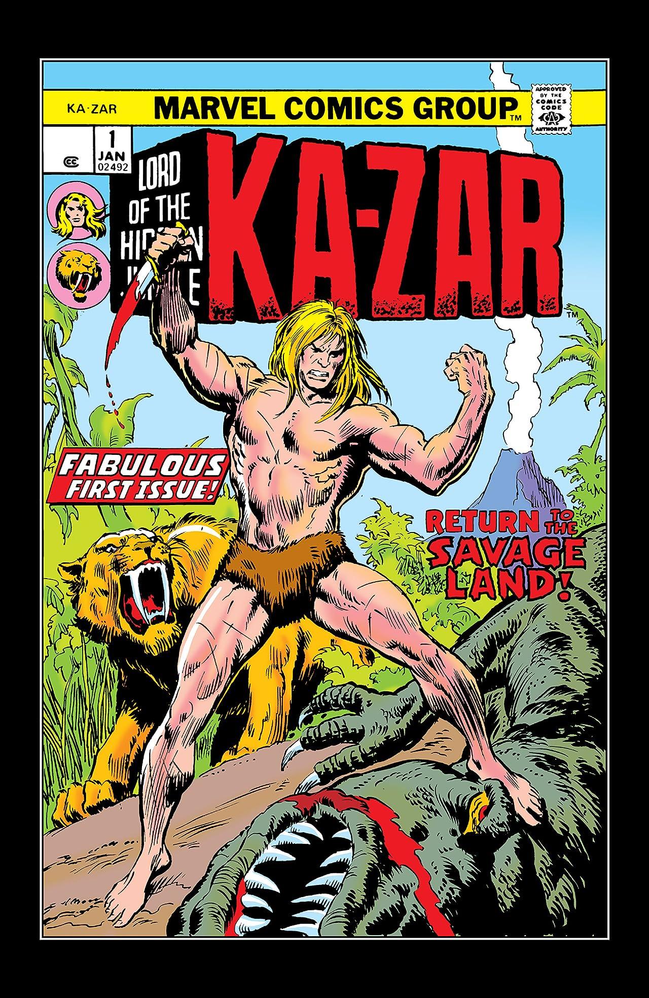 Ka-Zar (1974-1977) #1