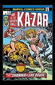 Ka-Zar (1974-1977) #2