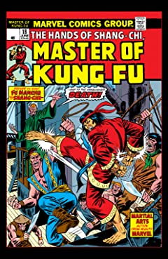 Master of Kung Fu (1974-1983) No.18