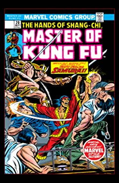 Master of Kung Fu (1974-1983) No.20