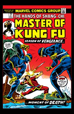 Master of Kung Fu (1974-1983) No.21