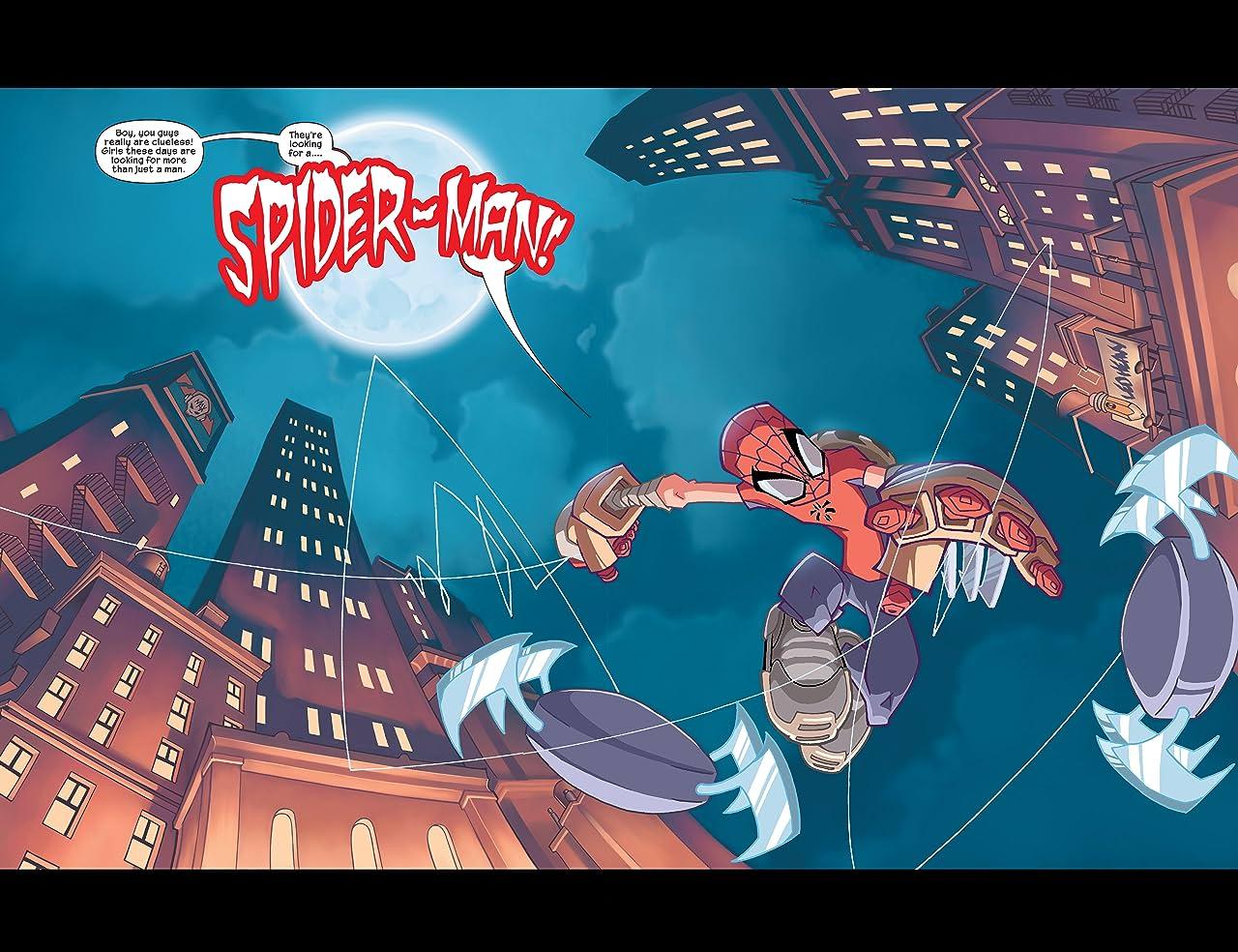 Spider-Man: Legend of the Spider-Clan (2002) #1