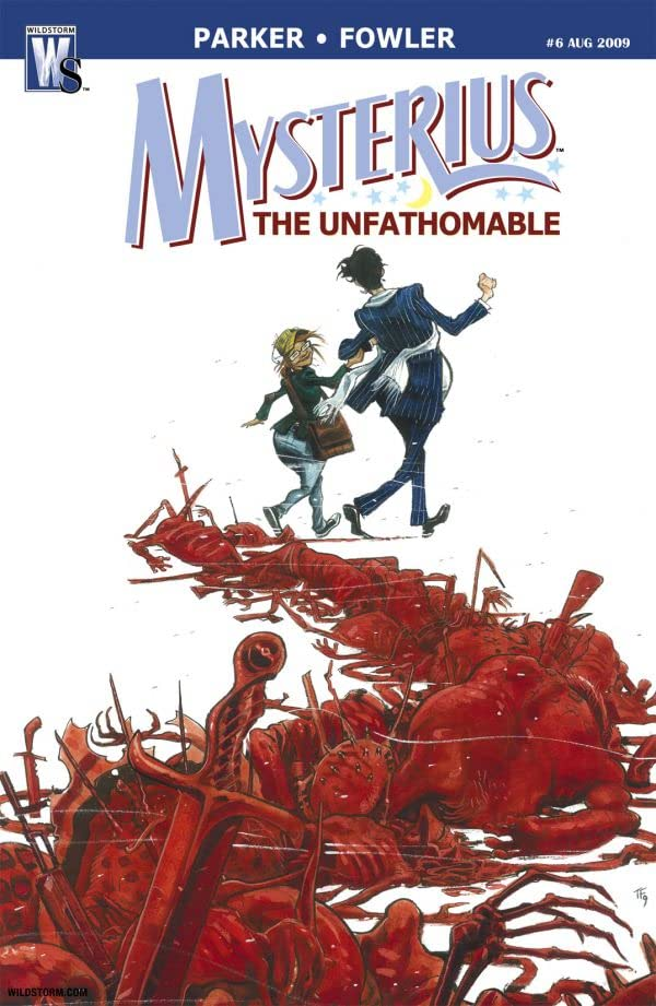 Mysterius: The Unfathomable #6 (of 6)
