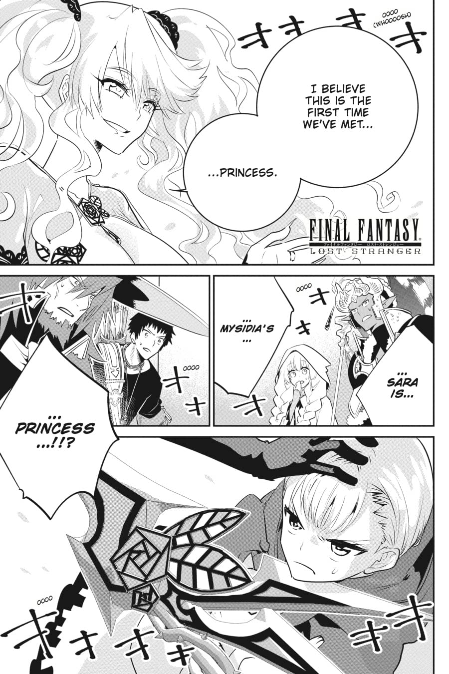 Final Fantasy Lost Stranger #8