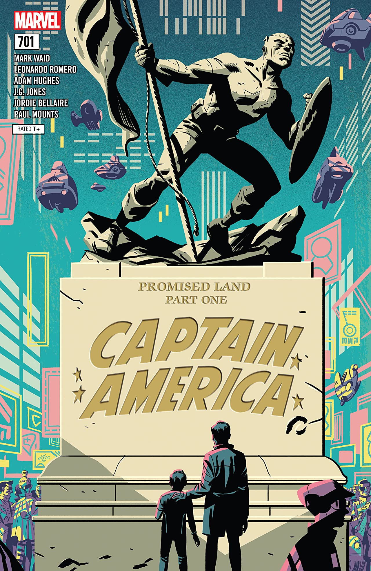 Captain America (2017-) No.701