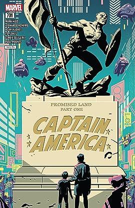 Captain America (2017-2018) #701