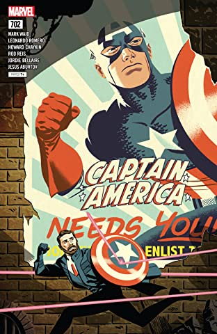 Captain America (2017-2018) No.702
