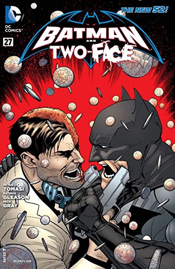 Batman and Robin (2011-2015) #27: Two-Face
