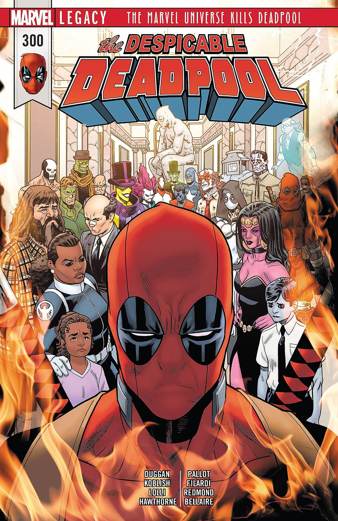 Despicable Deadpool (2017-2018) #300