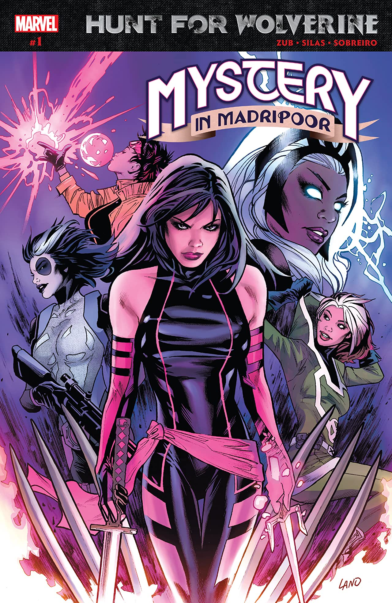 Hunt For Wolverine: Mystery In Madripoor (2018) No.1 (sur 4)