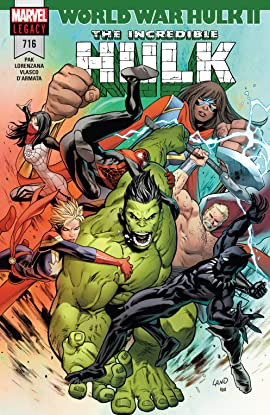 Incredible Hulk (2017-2018) #716