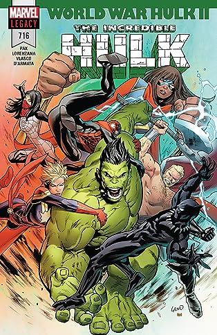 Incredible Hulk (2017-) #716