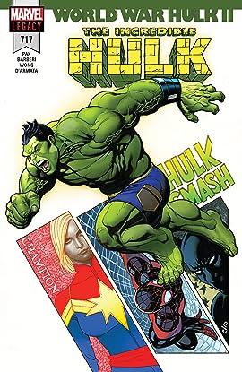 Incredible Hulk (2017-2018) #717