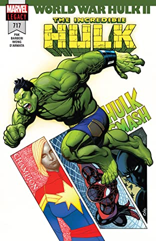 Incredible Hulk (2017-2018) #717