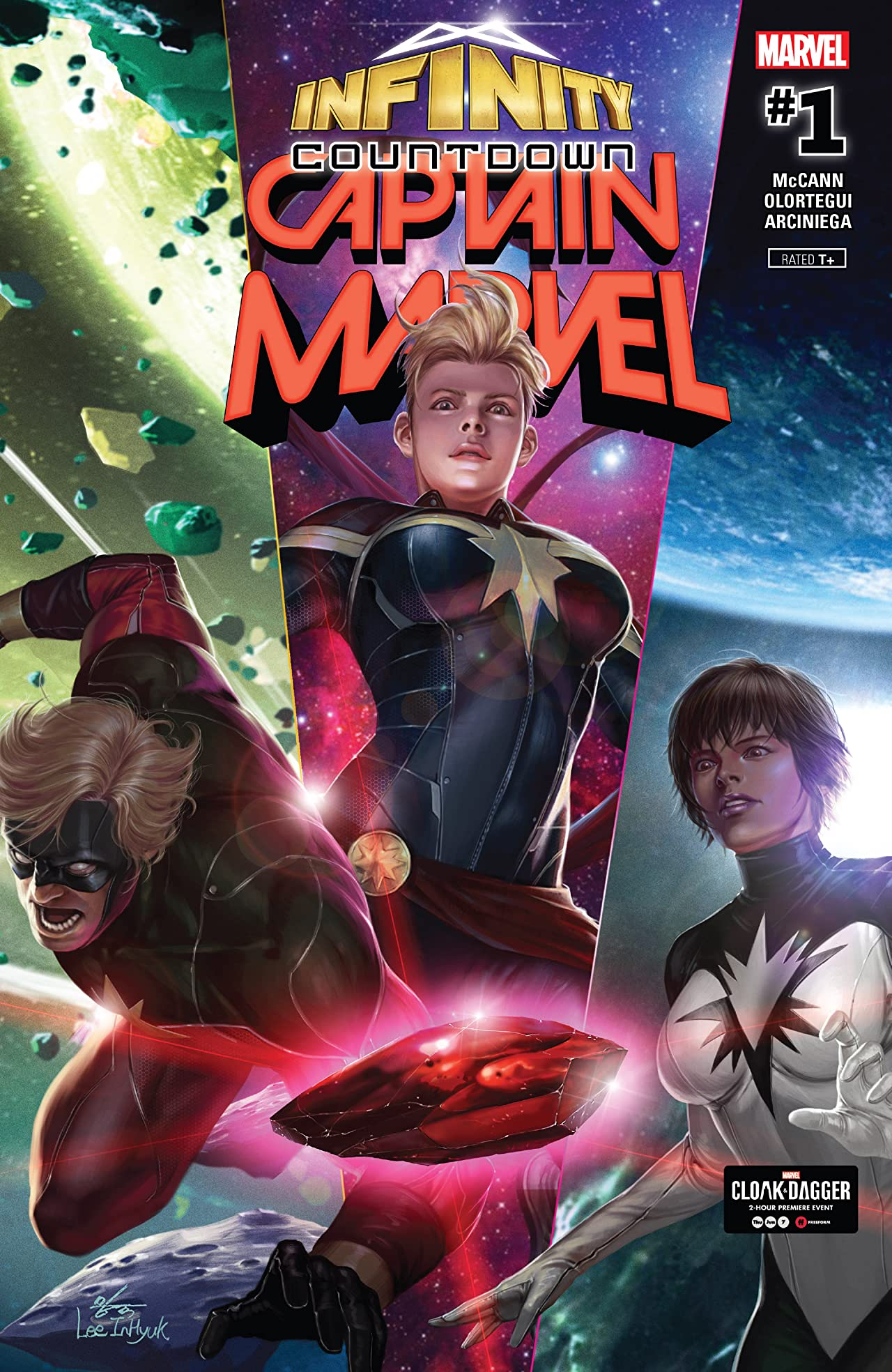Infinity Countdown: Captain Marvel (2018) No.1