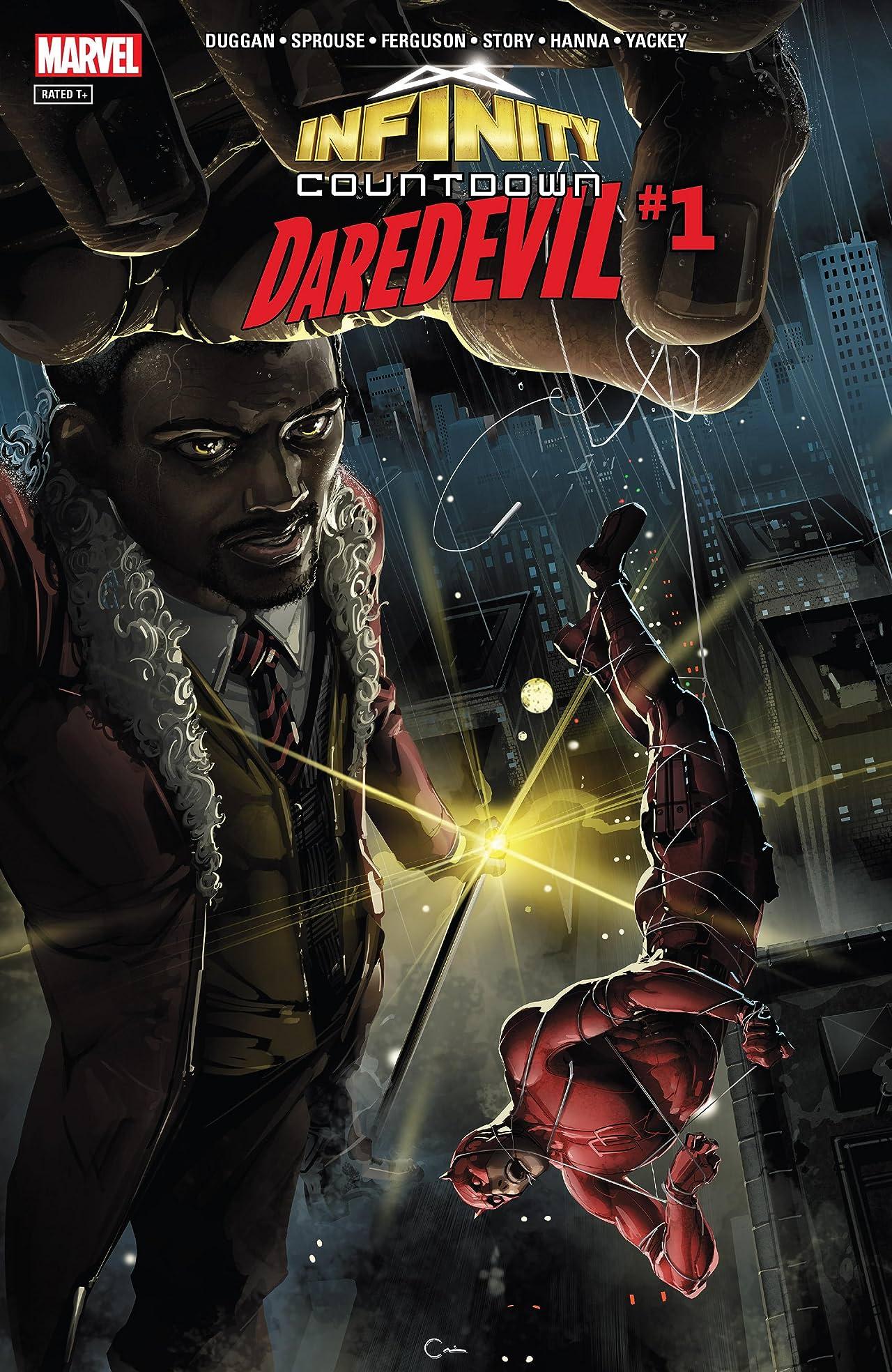 Infinity Countdown: Daredevil (2018) No.1