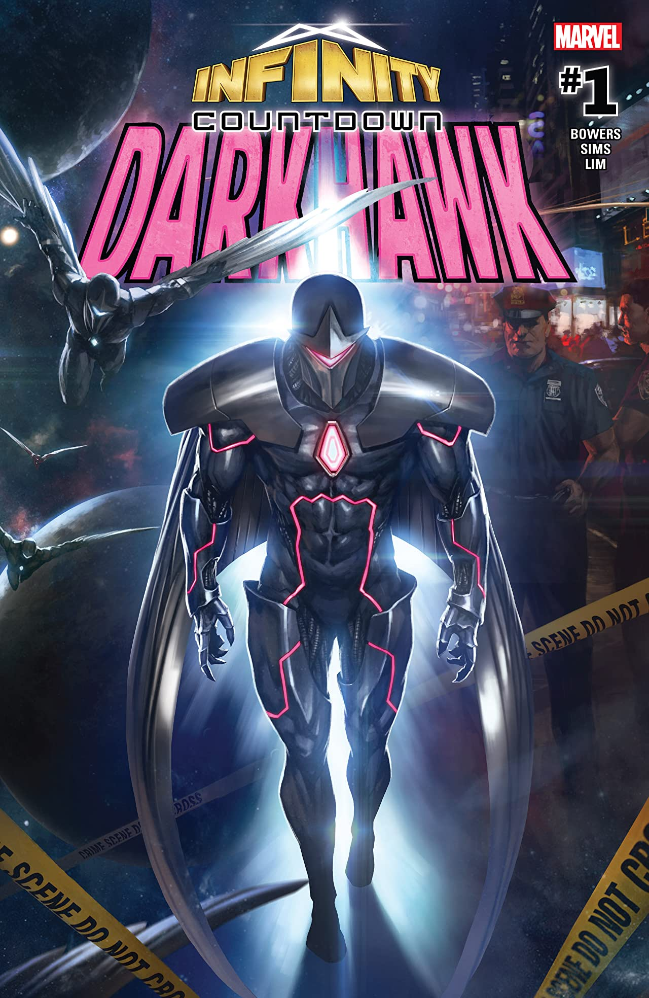 Infinity Countdown: Darkhawk (2018) No.1 (sur 4)
