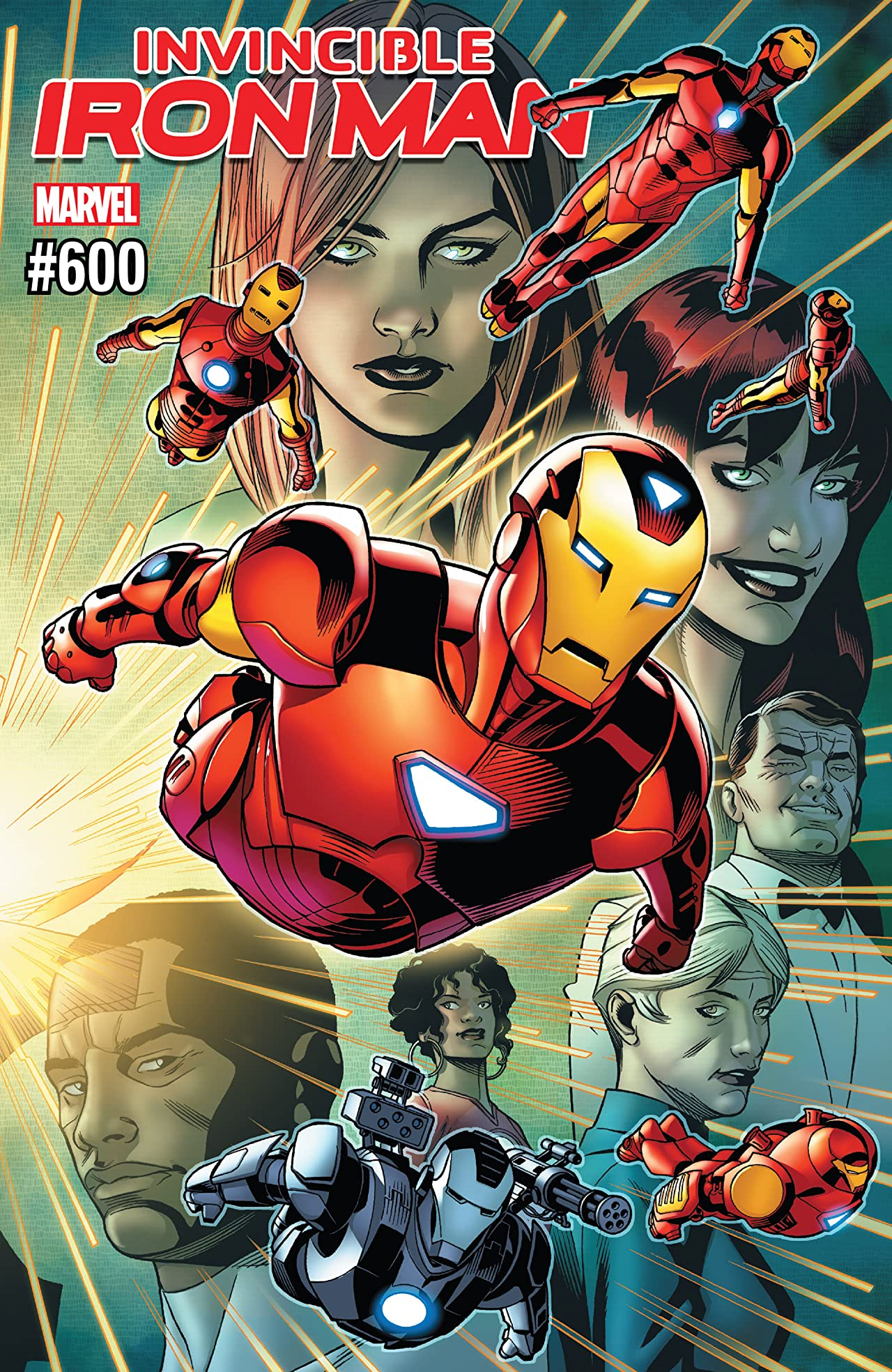 Invincible Iron Man (2016-) No.600