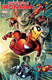 Invincible Iron Man (2016-) #600