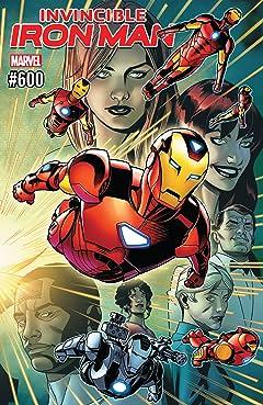 Invincible Iron Man (2016-) #600