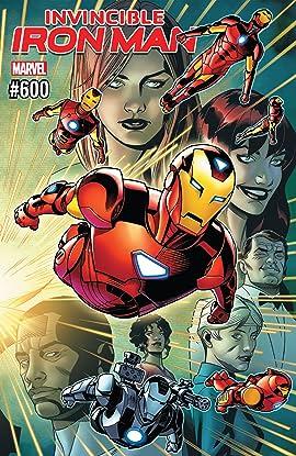 Invincible Iron Man (2016-2018) #600