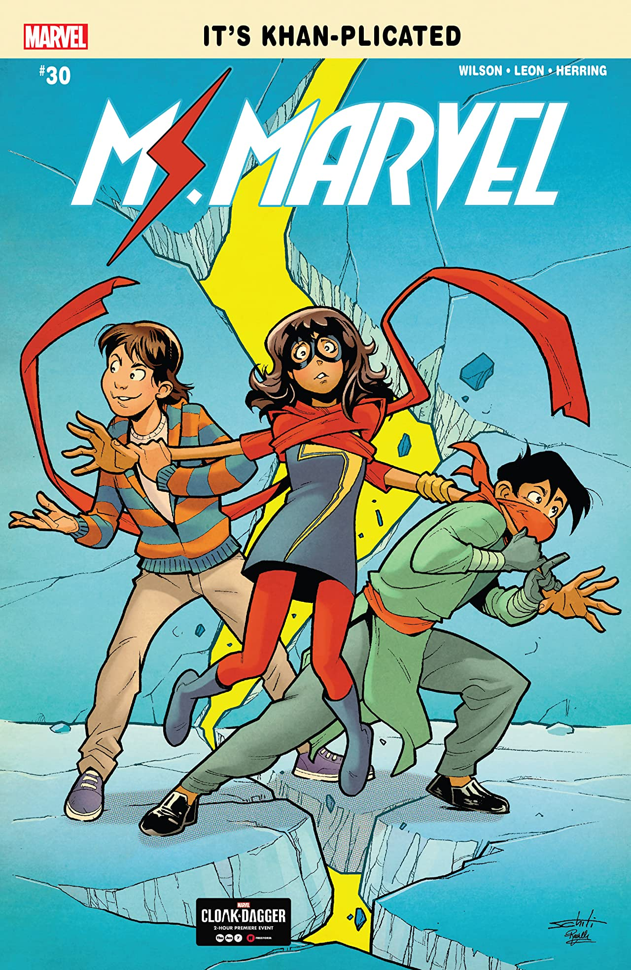 Ms. Marvel (2015-) No.30