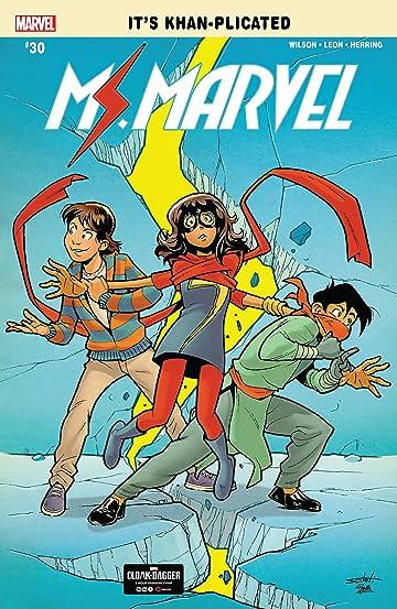 Ms. Marvel (2015-) #30