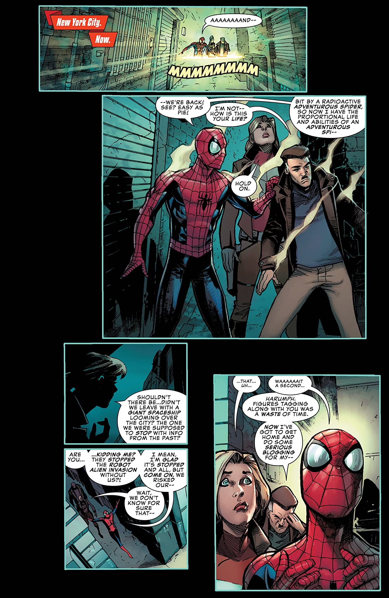 Peter Parker: The Spectacular Spider-Man (2017-2018) #304
