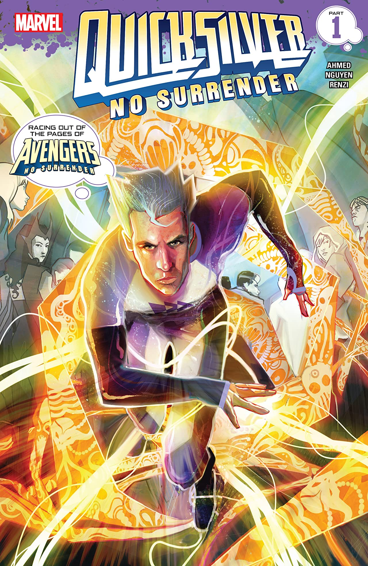 Quicksilver: No Surrender (2018) #1 (of 5)