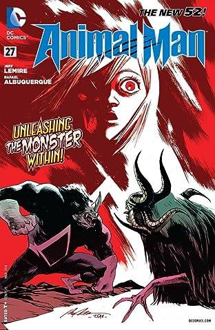 Animal Man (2011-2014) #27