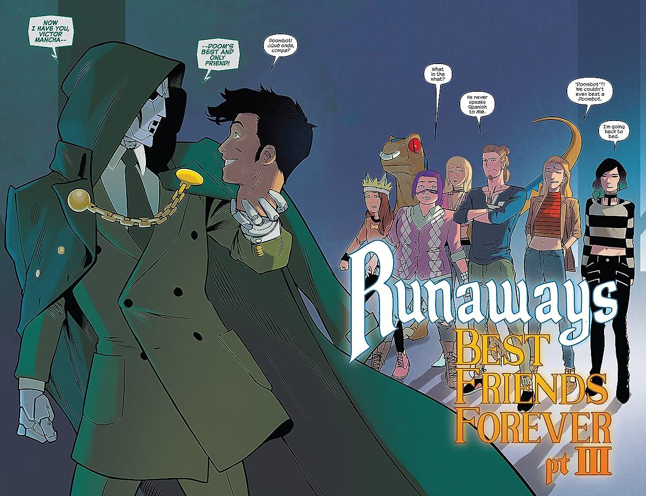 Runaways (2017-) #9