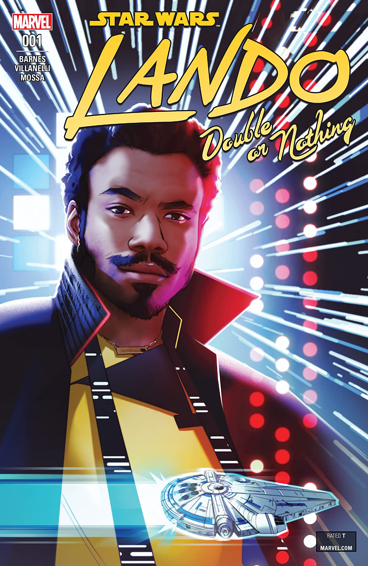 Star Wars: Lando - Double Or Nothing (2018) No.1 (sur 5)
