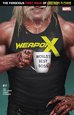 Weapon X (2017-) #17