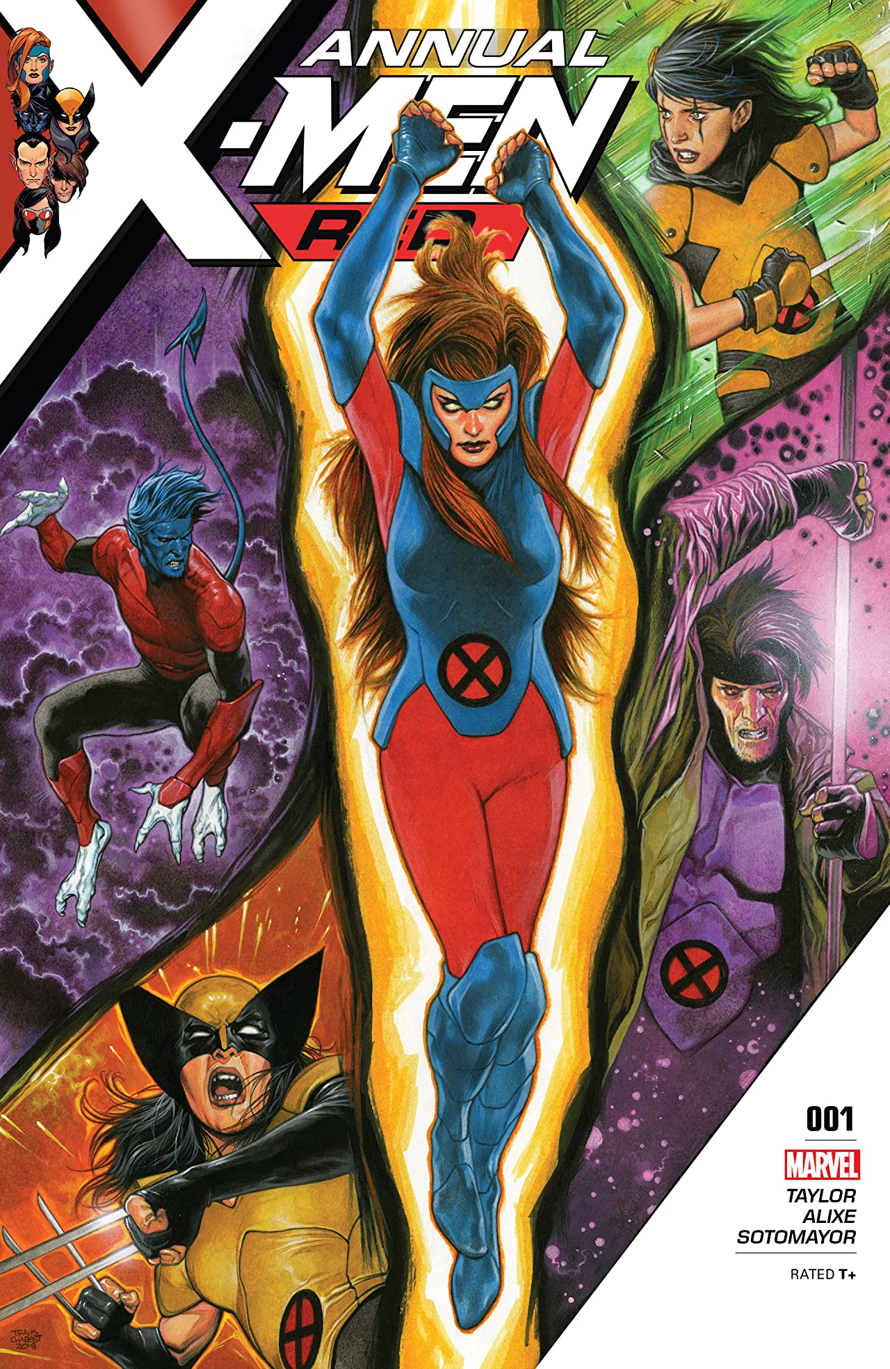X-Men Red (2018-) Annual No.1