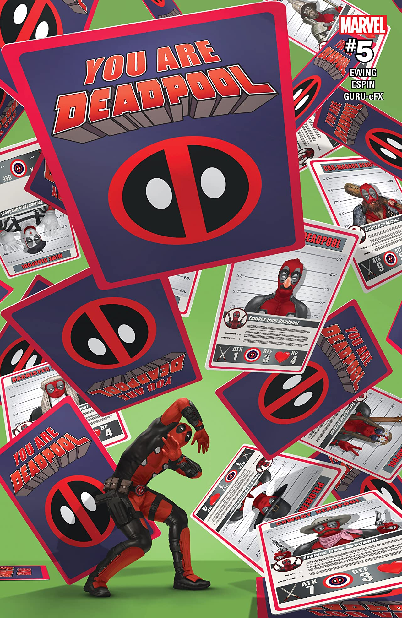You Are Deadpool (2018) No.5 (sur 5)