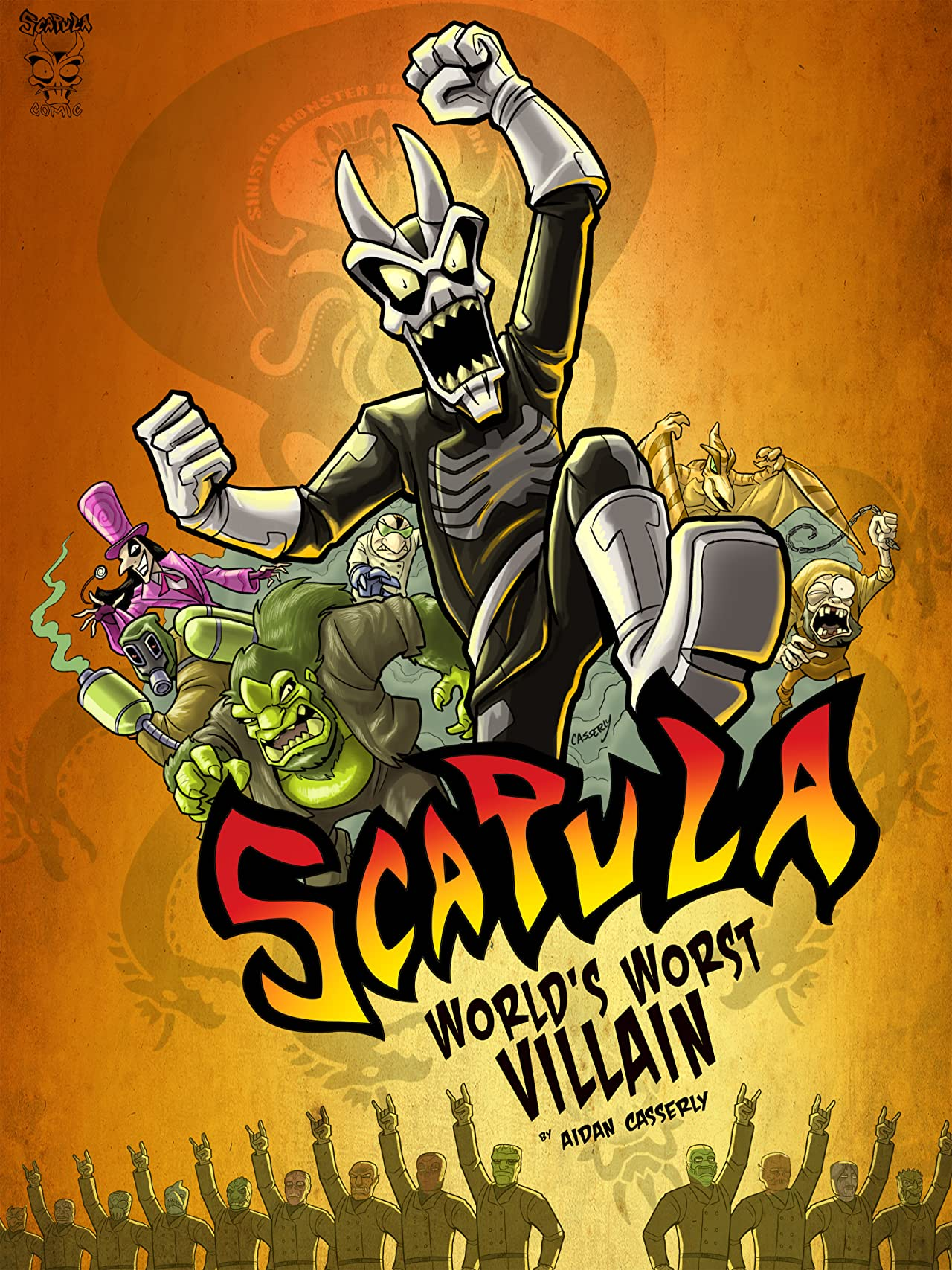 Scapula: World's Worst Villain Redux