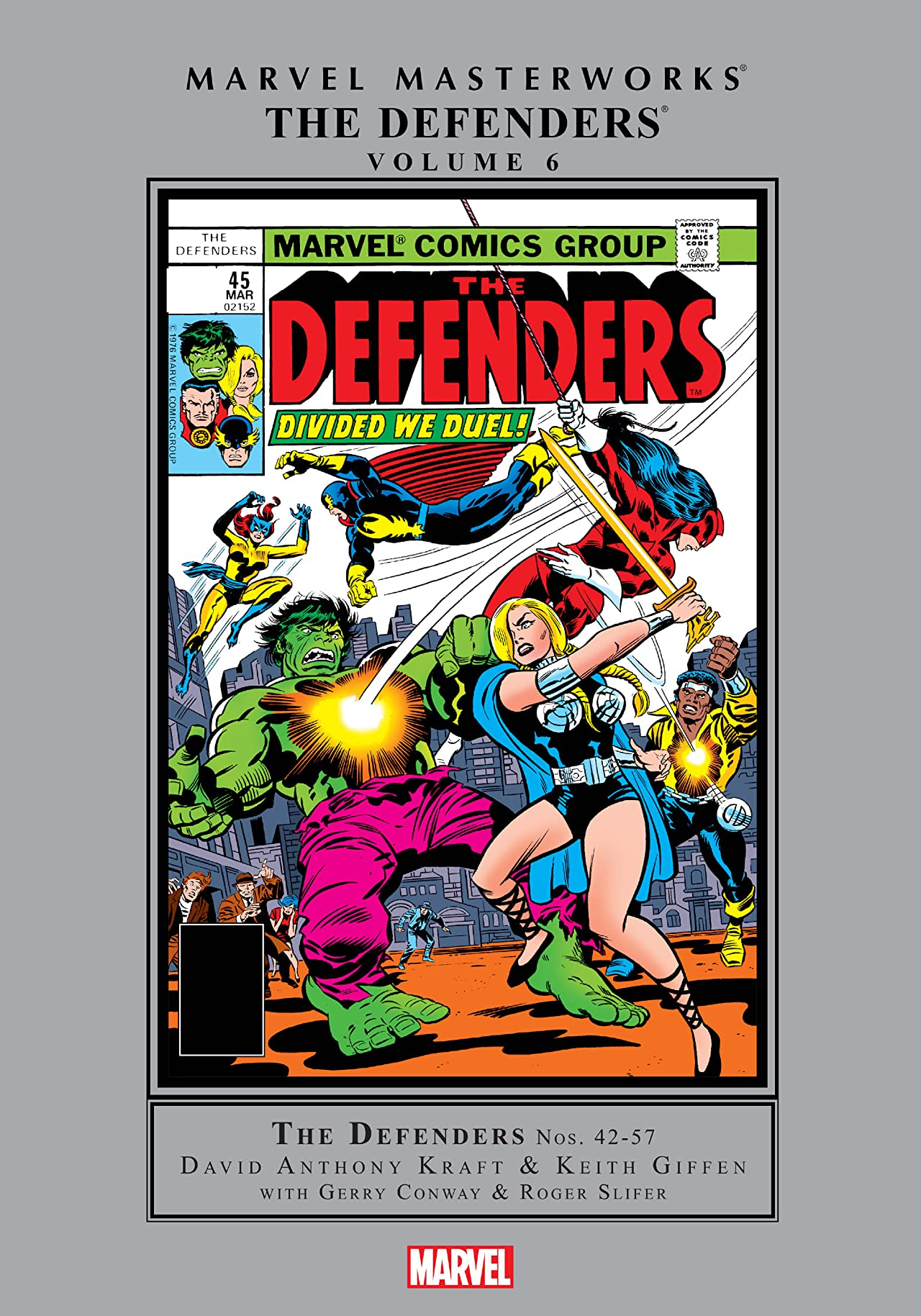 Defenders Masterworks Vol. 6